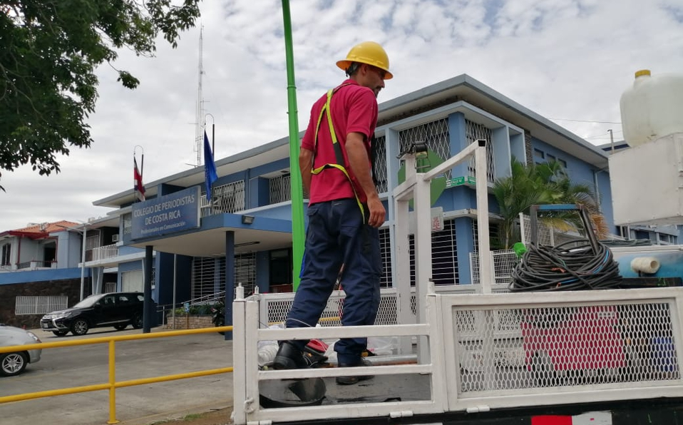 (FOTOS+VIDEO) Fuerte congestión en La Sabana por cambios viales