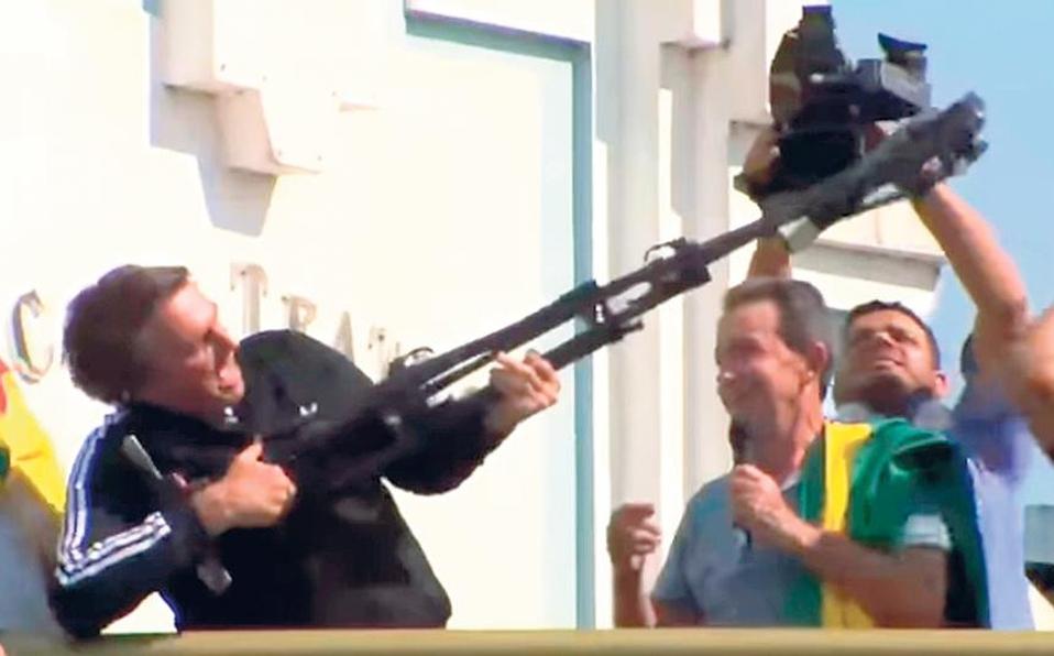 Brasileños temen ante discurso violento deultraderechistaBolsonaro