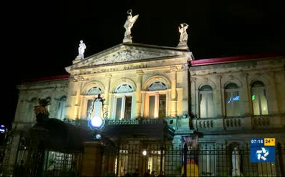 El Teatro Nacional es de los puntos de referencia mas usados en San José. (Foto: Archivo)