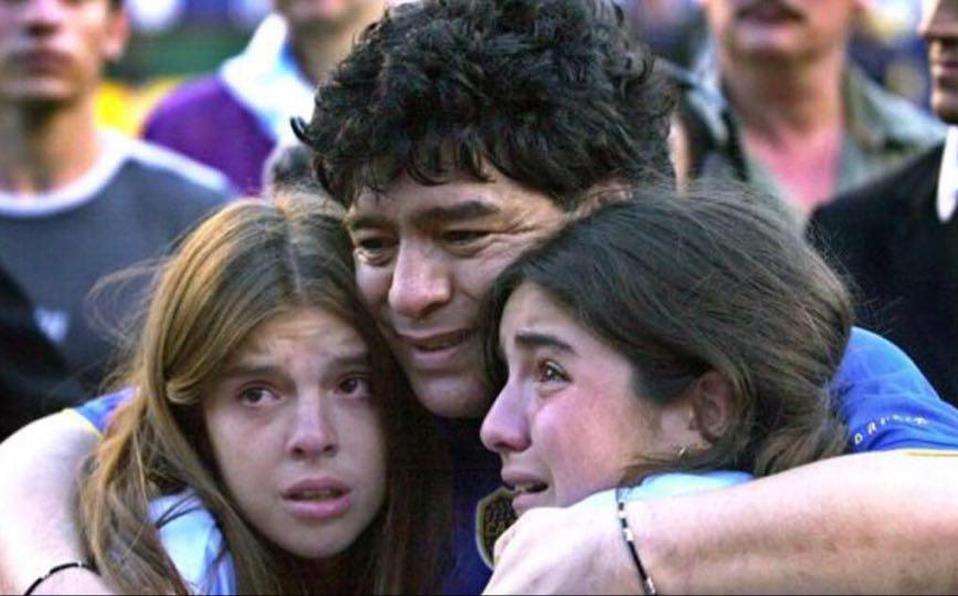 Revelan los mensajesde los hijos de Maradona antes de su muerte