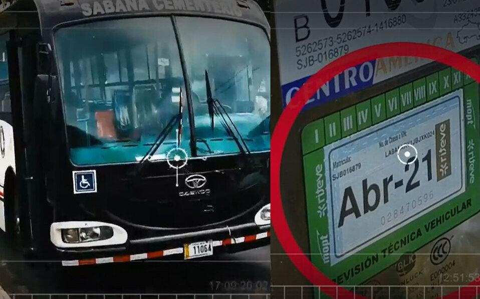 Autobuses de Sabana Cementerio operan sin revisión vehicular