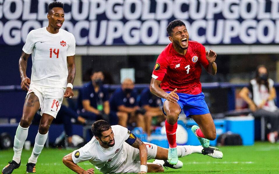 Costa Rica se va de la Copa Oro luego de caer ante Canadá. (Foto: Reuters)
