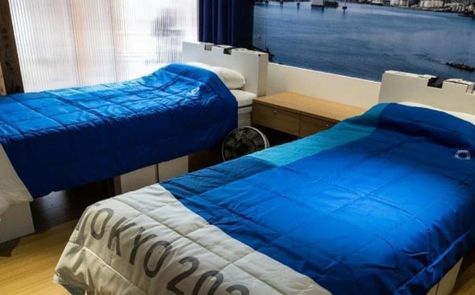 Estas son las camas en las que dormirán los atletas. (Foto: Instagram @miaminews24official)