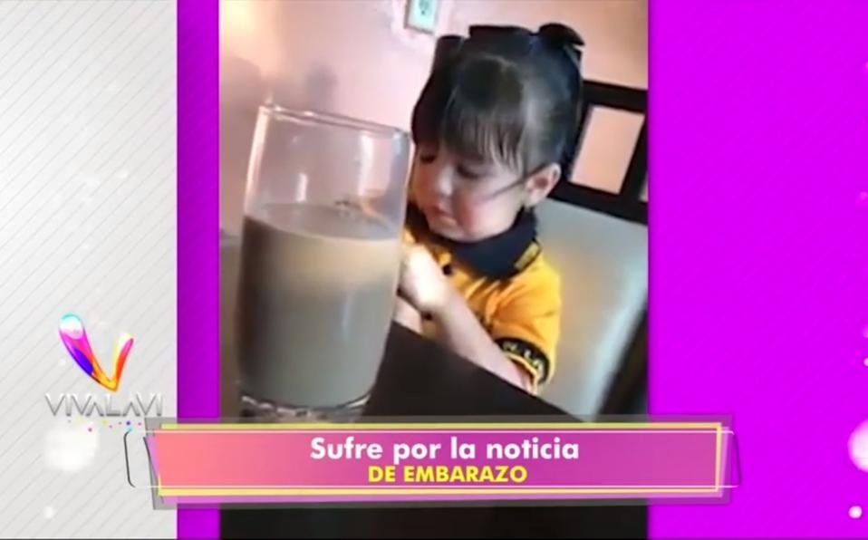 (+VIDEO) Esta niña asegura estar embarazada
