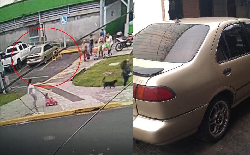 Roban vehículo a carnicero mientras compraba dentro de un supermercado en Vázquez de Coronado