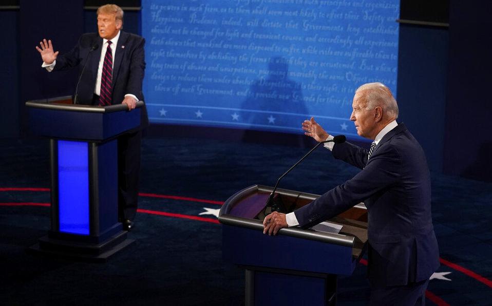 Biden dice aceptará debate con Trump si médicos lo aprueban