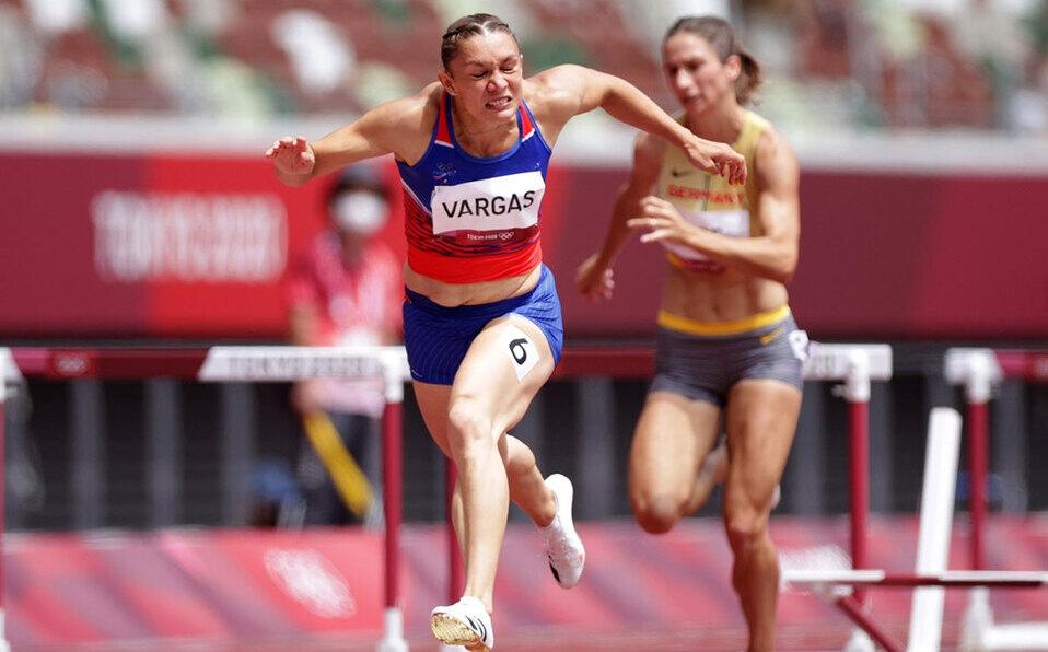 Andrea Vargas pasa a semifinales de 100 metros con vallas en Tokio 2020