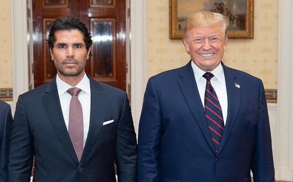 Eduardo Verástegui le envió un mensaje de apoyo a Donald Trump. | Instagram @EduardoVerastegui