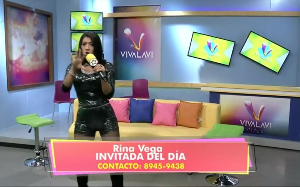 (+VIDEO) Rina Vega puso el sabor en Vivalavi