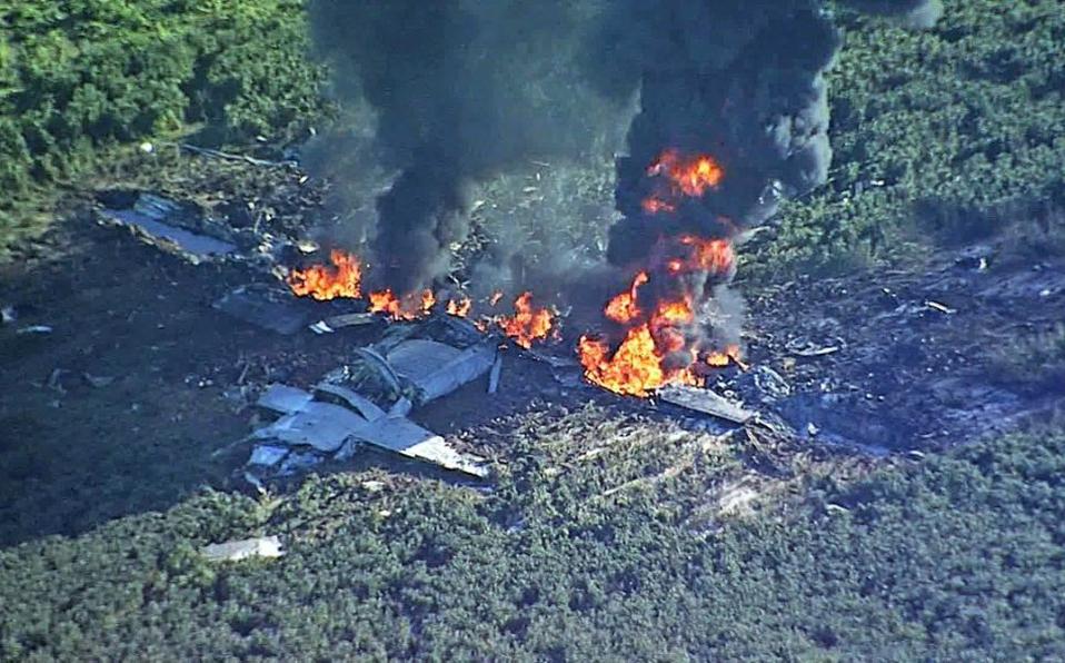 Trágico accidente de avión deja 16 muertos en EEUU