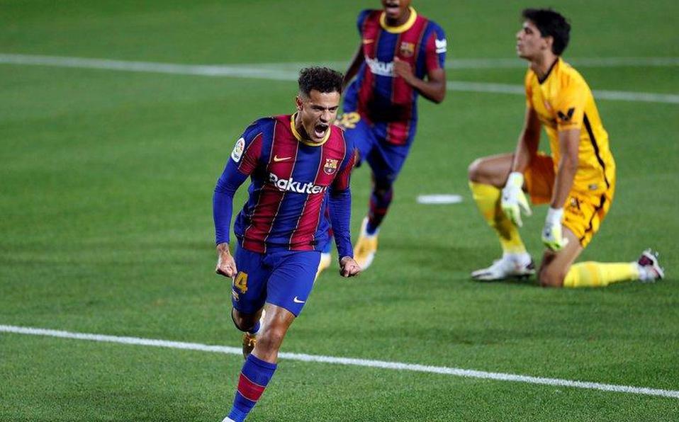 Barcelona sufre para lograr el empate ante Sevilla