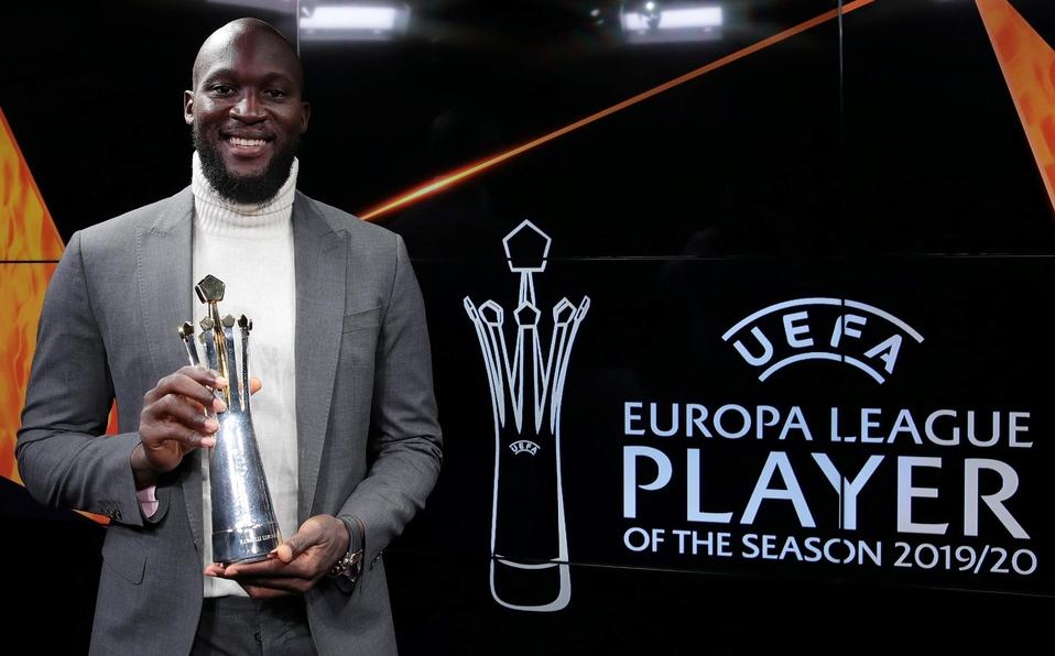 Lukaku es nombrado jugador de la temporada 2019-2020 de la Europa League