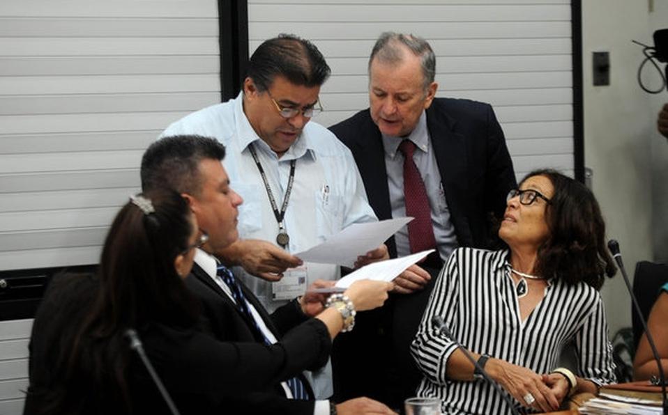 Patricia Mora conformó parte de la Comisión del Cemento Chino.