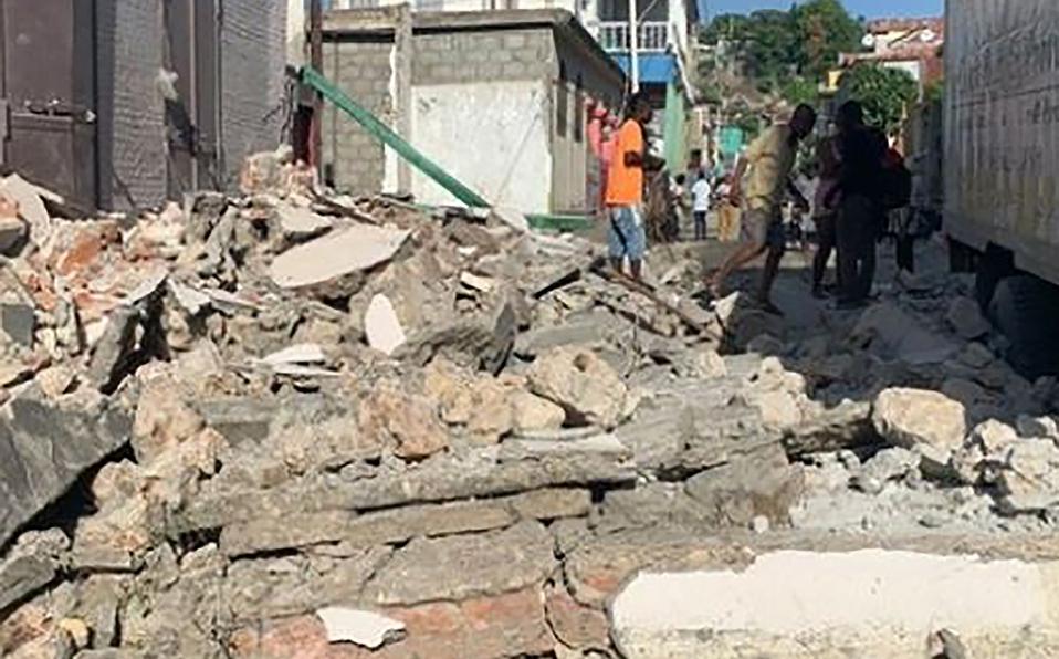 El terremoto se presentó el pasado sábado. (Foto: Cortesía)