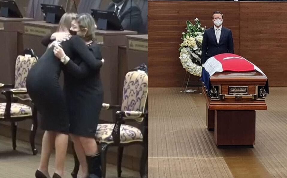 Realizan sentido homenaje póstumo por fallecimiento del diputado Rodolfo Peña.