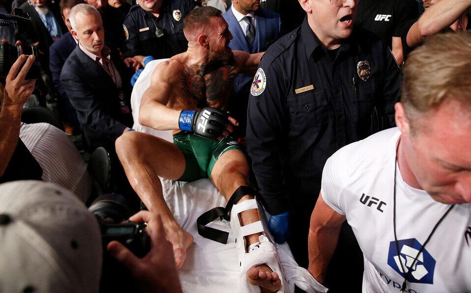 El combate estelar del UFC 264 terminó con un final inesperado (Foto: Reuters)