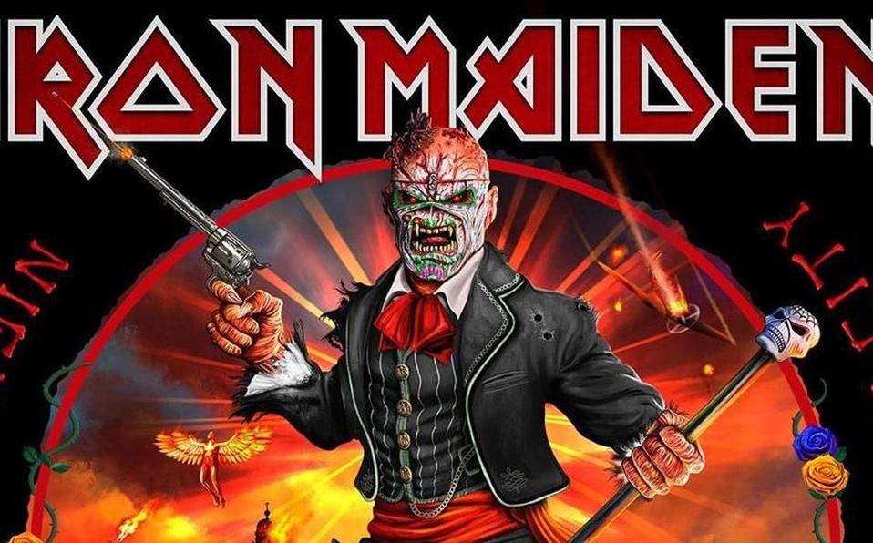 Iron Maiden lanzará un álbum en vivo grabado en México. | Instagram @IronMaiden