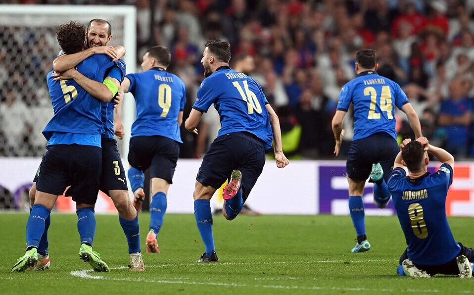 Italia se corona campeón de la Eurocopa tras derrotar a Inglaterra. (Foto: Reuters)