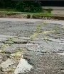 Rohrmoser tiene 21 huecos en dos cuadras de vía municipal